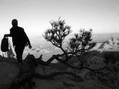 Rock Climbing Photo: The summit of Chuckawalla 21 (Global Peak) is amaz...
