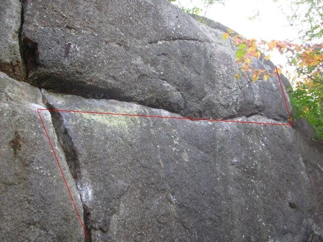 Rock Climbing Photo: The Bipolar traverse, as if the line wasn't obviou...