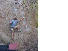 Rock Climbing Photo: Green Wall, Bishop