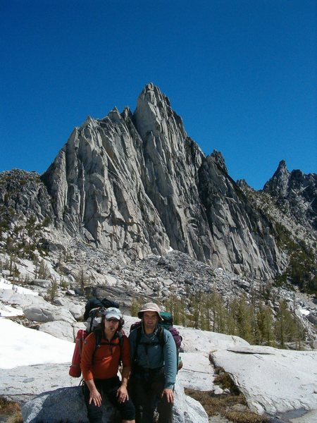 Rock Climbing Photo: My favorite peak of all time. Prusik peak with my ...
