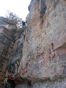 Rock Climbing Photo: Second ascent of Bluto Tastes An Olive. Greg DeMat...