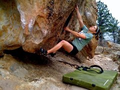 Rock Climbing Photo: bouldering at ute valley
