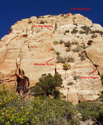 Rock Climbing Photo: SE Face of Mount Hayden