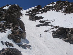 Rock Climbing Photo: Cross Couloir