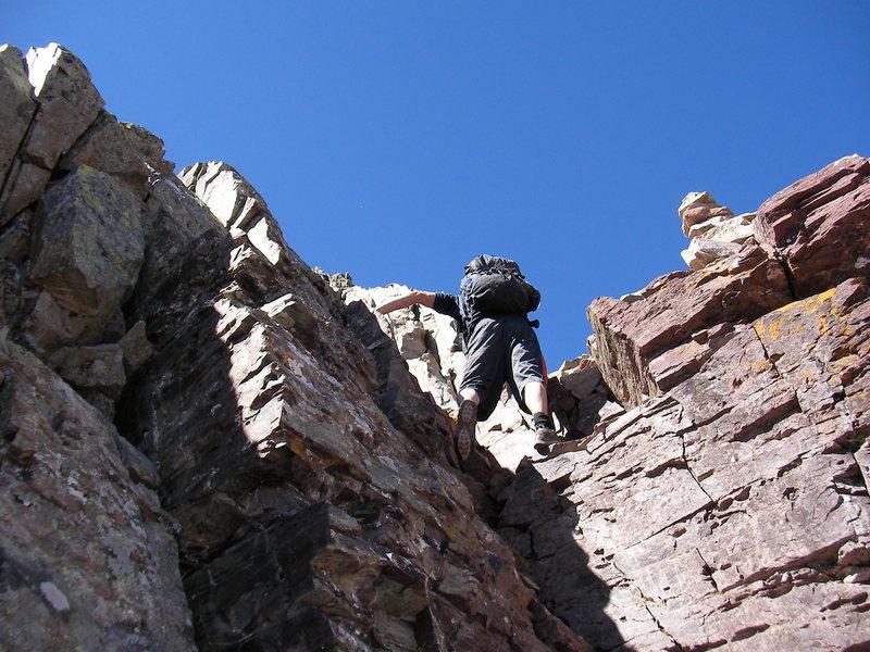 Rock Climbing Photo: Pyramid