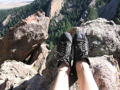 Rock Climbing Photo: Another shot of my shoes!; >