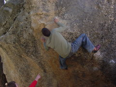 Rock Climbing Photo: Two Moves Further....