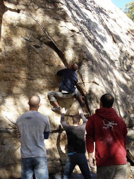 Rock Climbing Photo: Gill Crack at The Shawangunks