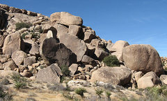 Rock Climbing Photo: The Bond Boulders. Photo by Blitzo.