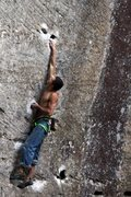 Rock Climbing Photo: Big Moves, Big Holds