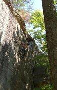 Rock Climbing Photo: Paul sending Heart Shape Box