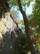 Rock Climbing Photo: Heart Shape Box