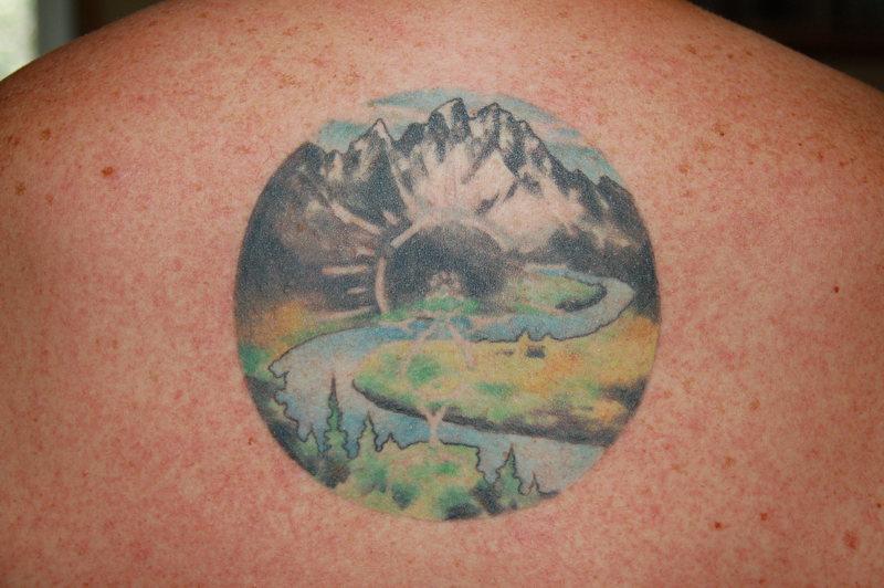 Rock Climbing Photo: Tetons tattoo