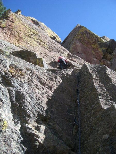 "Rock Climbing Photo: Pinch point I was describing on ""The Knack&qu..."