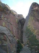 Rock Climbing Photo: False Gods/Rad route shot.
