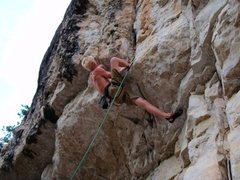 Rock Climbing Photo: under the gun opening moves