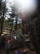 Rock Climbing Photo: Campground Boulder 2