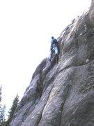 "Rock Climbing Photo: 2ME enjoying ""Love Above""."