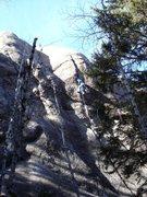 "Rock Climbing Photo: 2ME liking the ""Love Below""."