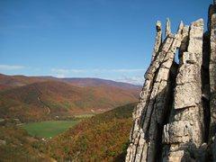 Rock Climbing Photo: Seneca in the fall