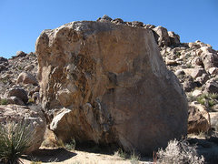 Rock Climbing Photo: Xenolithic Boulder from the Southeast. Photo by Bl...