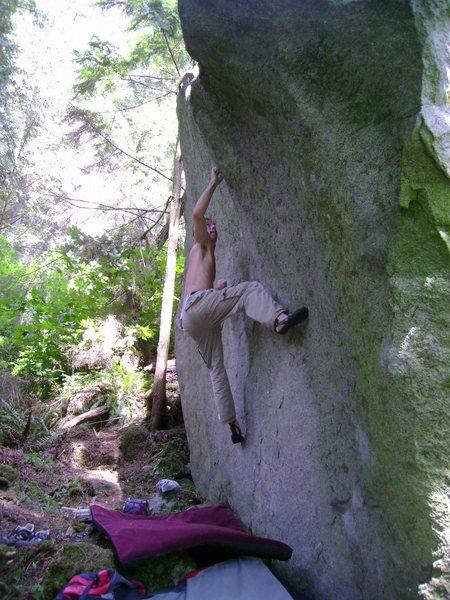 Rock Climbing Photo: Jedi
