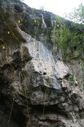Rock Climbing Photo: Drone Wall, middle left.  2. Beeleave 5.12a 3. Pre...