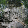 <em>Drone Wall</em>, middle.<br> <br> 6. Project<br> 7. 5.12c<br> 8. [[106287462]] 5.10d