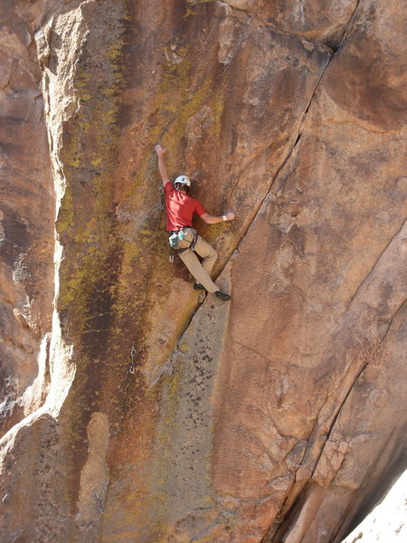 Rock Climbing Photo: Kevin Stricker cruising on The Real Thing.