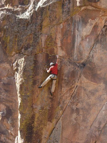 Rock Climbing Photo: Classic Thunder.  K. Stricker.
