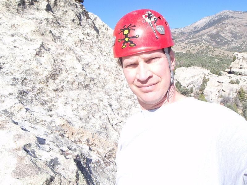 Rock Climbing Photo: At Castle Rx