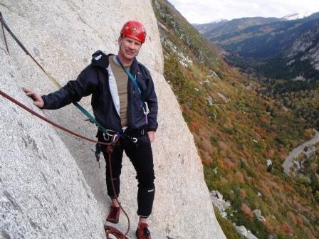 Rock Climbing Photo: Tingley