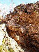 Rock Climbing Photo: The Rattler 5.10b