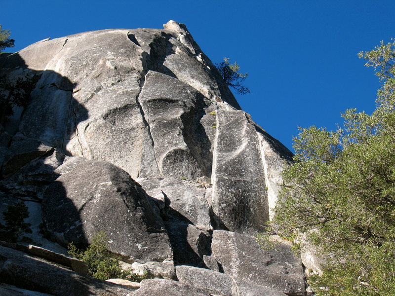 Rock Climbing Photo: Left side of the NE Buttress (Johnny Quest to Vici...