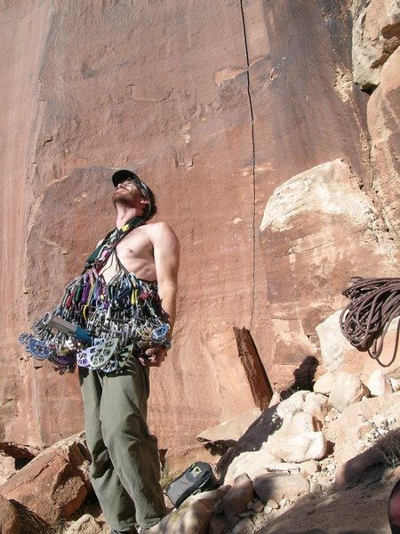 Rock Climbing Photo: I get excited over a large desert rack