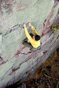 Rock Climbing Photo: Devils Lake. Lost Face Overhangs. Henning Boldt pu...