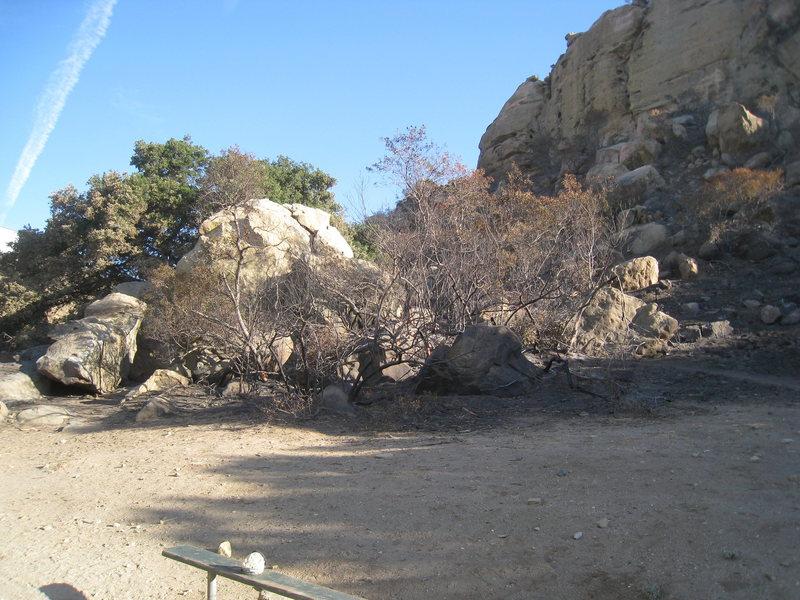 Pump Rock / Jam Rock from Boulder 1