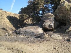 Rock Climbing Photo: Stoney Fire Oct 2008 - Pump / Jam rocks