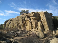 Rock Climbing Photo: Stoney Fire Oct 2008 - Back Wall
