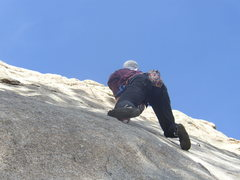 Rock Climbing Photo: Arkansas Patriot:  Combat Rock, Big Thompson Canyo...
