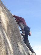 Rock Climbing Photo: Arkansas Patriot:  Combat Rock, Big Thompson Canyo...