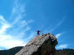 Rock Climbing Photo: First Flatiron:  Boulder, Colorado
