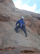Rock Climbing Photo: Otto's Route:  Independence Monument, Grand Juncti...