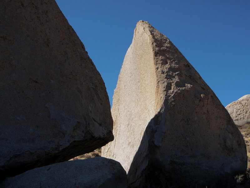 Rock Climbing Photo: The Southeast Arete of Grandma Peabody.