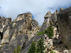 Rock Climbing Photo: North and South Early Winter Spires