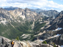 Rock Climbing Photo: Ridge Traverse to the Summit Pinnacle