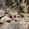 Climbing the South Arete
