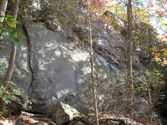 Rock Climbing Photo: The nice hand crack goes at about 5.6