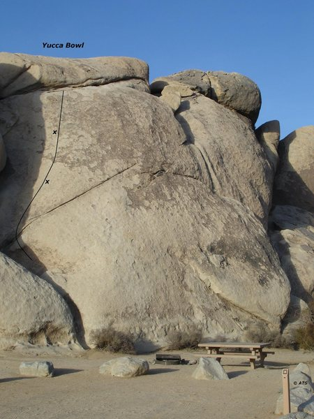 Rock Climbing Photo: Yucca Bowl