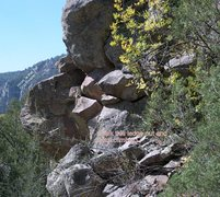 Rock Climbing Photo: This is coming down the East end walk down showing...